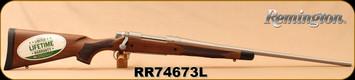 "Remington - 25-06Rem - Model 700 CDL SF - Limited Edition - Premium American Walnut/Stainless, Fluted 24""Barrel, X-Mark Pro Adjustable Trigger, Mfg# 84036, S/N RR74673L"