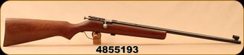 "Consign - Cooey - 22LR - Model 39 - Wood Stock/Blued, 22""Barrel, no rear sight"