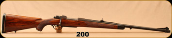 "Consign - Fred Wells - 510 Wells Express - Fred Wells Custom - High Grade Walnut Stock/Matte Blued, 26.5""Barrel, 15.5""LOP - Dies & Ammo available - Made for Baron Von Maffei"
