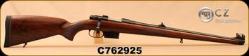 "CZ - 223Rem - Model 527 FS - Turkish Walnut Mannlicher-style stock/Blued, 20.5""Barrel, 1:9""Twist, Mfg# 03013, S/N C762925"