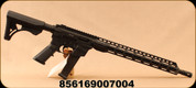 "Freedom Ordnance - 9mm - FX-9 Carbine - AR Style Semi Auto Rifle - 13"" Freefloat M-LOK Handguard Collapsible Stock Black/16""Threaded (1/2x28 TPI) Barrel - Uses GLOCK Style Mags - Restricted"