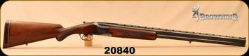 """Consign - Browning - 12Ga/2.75""""/30"""" - Superpose - O/U - Walnut/Blued, Pachmayr White Line Recoil Pad, c/w F & M Chokes - In Hard Case"""
