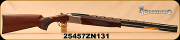 """Browning - 16Ga/2.75""""/28"""" - Citori 525 Field 16 Gauge - Throwback 525 Styling - Grade II/III walnut stock and Schnabel forearm/Accented Engraving/Blued barrels, Mfg# 018198513, S/N 25457ZN131"""