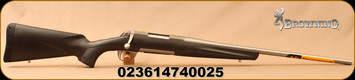 "Browning - 6.5Creedmoor - X-Bolt Stainless Stalker - Bolt Action Rifle - Black Non-Glare Composite Finish/Stainless, 22""Barrel, 1:8""Twist Rate, Mfg# 035497282"