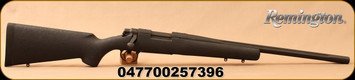 """Remington - 308Win - 700P Light Tactical Rifle (LTR) - Bolt Action Rifle - Black w/Black Web H-S Precision Composite Stock/Black Non-reflective Finish, 20"""" Fluted Barrel, 4 Round Hinged Floorplate, Mfg# 25739"""