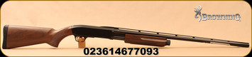 """Browning - 20Ga/3""""/28"""" - BPS Field - Pump Action - Satin Finished Walnut Stock/Chrome-Plated Chamber/Matte Blued, Ventilated Rib, Invector + Flush Choke System, Mfg# 012284604"""