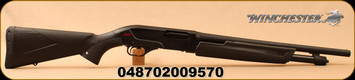 "Winchester - 20Ga/3""/26""/18.5"" - Winchester SXP Camp and Field Combo - Pump Action Shotgun - Black Synthetic/Blued, Invector + Choke System, 5 Round Capacity, Mfg# 512257691"