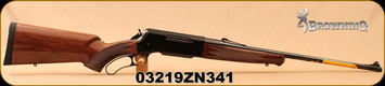 "Browning - 30-06Sprg - BLR Lightweight with Pistol Grip - Lever Action Rifle - Gloss Black Walnut Pistol-Grip Stock/Polished Blued, 22""Barrel, Detachable Box Magazine, Mfg# 034009126, S/N 03219ZN341"