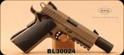 "Consign - GSG - 22LR - Model 922 - Semi-Auto Pistol - Desert Tan Finish, 5""Barrel - In original case"