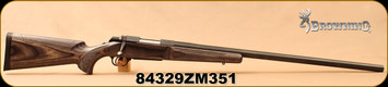 """Consign - Browning - 300WSM - A-Bolt Target - Grey Laminate Stock w/Adjustable cheekpiece/Blued, 28""""Heavy Barrel - Brand New out of box"""