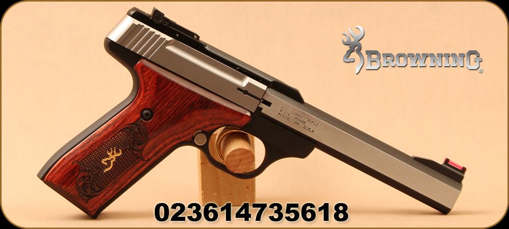 Browning - 22LR - Buck Mark - Medallion Rosewood - Semi-Auto