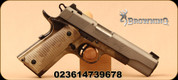 """Browning - 22LR - 1911-22 Black Label Speed Gray - Semi-Auto Handgun - A-TACS AU finished textured grips/Gray anodized slide, 4.25""""Barrel, 3-dot sights, Mfg# 051873490"""