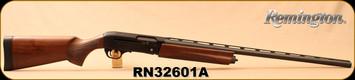 "Remington - 12Ga/3""/28"" - Model V3 Field Sport - Semi Auto Shotgun - Black Oxide, Walnut Stock and Fore-end, Vent Rib Barrel,  3rds, Twin Bead Sights, Rem Choke (Modified) - Mfg #83420, S/N RN32601A"