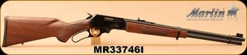 "Marlin - 35Rem - Model 336C - Lever Action - American Black Walnut Stock/Blued, 20"" Barrel w/Micro-Groove Rifling, 6-shot Tubular Magazine - Mfg #70506, S/N MR33746I"