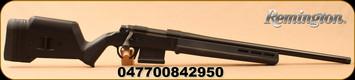 "Remington - 6.5Creedmoor - Model 700 Magpul - Bolt Action Rifle - Black Magpul Hunter Stock/Blued, 22"" Threaded Barrel, 5 Rounds, Mfg# 84295"