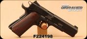 """Consign - Sig Sauer - 22LR - Model 1911-22 - Wood Grip Panels/Black Finish/Alloy Frame, 5""""Barrel, Fixed 3-Dot sights - In original case"""