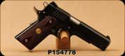 "Consign - Para - 45ACP - 1911 SSP Ordnance - Cocobolo Double-Diamond Grips/Black Finish, 5""Barrel, Skeletonized Match-Grade Trigger"