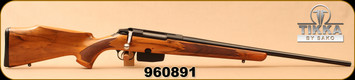 "Consign - Tikka - 308Win - Model 595 Hunter - Walnut Stock/Blued, 22.4""Barrel, 5 round magazine"