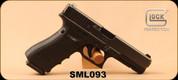 "Consign - Glock - 40S&W - Model 22 Gen4 - Black  Finish, 4.9""Barrel, c/w 4 Snap-Caps, 4 magazines, Belt & Attachments - In Black hard plastic case"