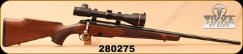 "Consign - Tikka - 270Win - Model 695 Deluxe - Walnut/Blued, 22.4""Barrel, c/w Leupold VX-III 3.5-10x50mm, Illuminated Duplex Reticle"