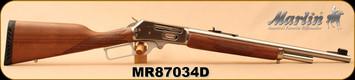 "Consign - Marlin - 45-70Govt - Model 1895GS Guide Gun - Lever Action - American black walnut straight-grip stock/Stainless, 18.5""Barrel w/ deep-cut Ballard-type rifling"