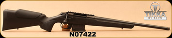 "Consign - Tikka - 6.5Creedmoor - T3x Compact Tactical - Black Synthetic/Blued, 20""Threaded Barrel"