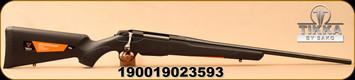 "Tikka - 204Ruger - T3x Lite - Bolt Action Rifle - Matte Black T3x Modular Synthetic Stock/Blued, 22.4""Barrel, 4 round Magazine, Mfg# TF1T58LL103"