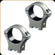 Optilock - Sako 30mm Rings - Low - Stainless Steel - S1703904