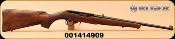"Ruger - 22LR - 10/22 Eagle - Semi-Auto - Walnut ""American Eagle""/Satin Black, 18.5""Barrel, MFG# 21199, S/N 001414909"