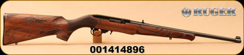 "Ruger - 22LR - 10/22 Eagle - Semi-Auto - Walnut ""American Eagle""/Satin Black, 18.5""Barrel, MFG# 21199, S/N 001414896"