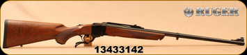 "Used - Ruger - 300H&HMag - 1-S Medium Sporter - Single-Shot Rifle - American Walnut Stock/Blued, 26""Barrel, Mfg# 11345, S/N 13433142 - Unfired - In original box with 1""rings, manual"