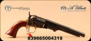 "Taylor's & Co - Uberti - 36Cal - Black Powder Revolver - 1862 Pocket Navy - Wood Grips/Case Hardened Frame/Blued, 6.5""Octagon Barrel, Mfg# 315C"