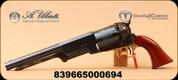 "Taylor's & Co - Uberti - 44Cal - Black Powder Cap and Ball Revolver - 1847 Walker - Wood Grips/Case Hardened Frame w/Brass/Charcoal Blue, 9"" Barrel, Mfg# 0020C00"