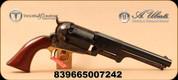 "Taylor's & Co - Uberti - 44Cal - Whitneyville Dragoon - Black Powder Revolver - Wood Grips/Color Case Frame/Blued, 7.5"" Barrel, Mfg# 083"