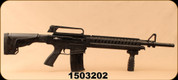 "Consign - Alpharms - 12Ga/3""/20"" - Model 15SA - Black Adjustable Stock/Blued Barrel, c/w (2)detachable magazines, 1""rings - Only 200 rounds fired"