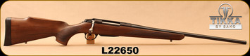 "Tikka - 308Win - T3x Forest - Bolt Action Rifle - Oiled Walnut/Blued, 22.4""Barrel, 1:11""Twist, 3rd magazine, Mfg# TF1T29S6103, S/N L22650"