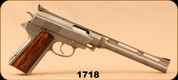 """Consign - Wildey - 45WM - Survivor - Gas Powered Semi-Auto Wood Grips/Stainless, 8""""Barrel, c/w 2 mags, manual, Ammo available from Consignor"""
