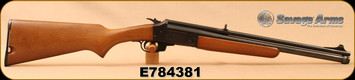 """Consign - Savage - 22LR-20Ga/3""""/20"""" - Model 24C - Over/Under Combo - Hardwood Stock/Blued - In Camo Cloth take-down case"""