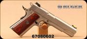 "Consign - Ruger - 45ACP - SR1911 - Wood Grips/Stainless, 5""Barrel, c/w 2 mags, fiber optic sights - In Ruger soft case"