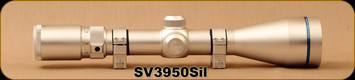 Consign - Scorpion Venom Riflescope - SV 3-9x50mm - 30mm Tube, Silver - Trajectory Compensating Reticle (TCR) - New in Box