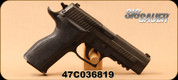 "Used - SIG Sauer - 9mm - P226 Enhanced Elite - Semi-Auto Pistol - Ergo Grips/Nitron Blued Finish, 4.4""Barrel, 10 Round, E26R-9-ESE - New, Unfired -  In original Case"