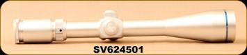 Consign - Scorpion Venom Riflescope - SV 6-24x50mm - Silver, 30mm Tube - Trajectory Compensating Reticle(TCR) - New in Box