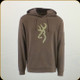 Browning - Men's Thomas Hoodie - Black/Olive - Medium