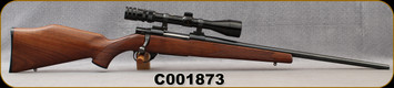 """Consign - RWS - Howa - 222Rem - Model 89  Sporter - Bolt Action Rifle - Walnut Stock/Blued, 22""""Barrel - Very low rounds fired - c/w Vapenringen Exklusiv, 3-9x40mm, Duplex Reticle, Leupold rings"""