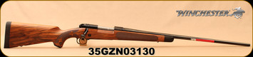 "Winchester - 7mmRemMag - Model 70 Super Grade French Walnut - Bolt Action Rifle - AAA French Walnut Stock w/Ebony Forearm Tip/'Super Grade' Engraved Hinged Floorplate/Polished Blued, 26""Barrel, Mfg# 535239230, S/N 35GZN03130"