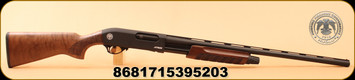 "Huglu - 12Ga/3""/28"" - Atrox-S - Walnut/Black Receiver/Blued - 5 pcs. Mobile Choke set - Bruised stock"