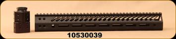 "Consign - Seekins - Ruger Precision SP3R M-Lok Rail - 15"" - Black Finish - Locking Nut"