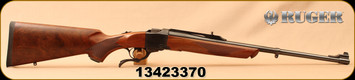 """Consign - Ruger - 30-06Sprg - No.1A Light Sporter - Single-Shot Rifle - Walnut/Blued, 22""""Barrel - New, no box - In Green soft case"""