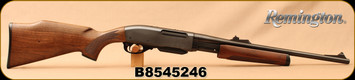"Consign - Remington - 30-06Sprg - Model 7600 Carbine - Pump Action - Walnut Stock/Blued, 18.5""Barrel - New, unfired - c/w green soft case"