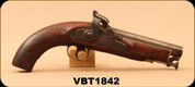 Consign - British Service - 1842 Tower Musket - Wood/Blued, Coast Guard/Naval, has broken hammer, missing butt plate - ANTIQUE